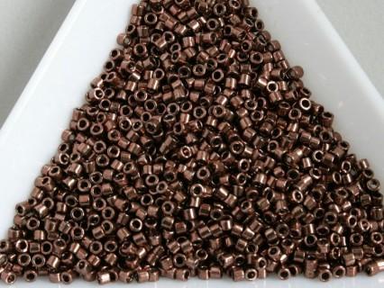 Miyuki Delica 11/0 DB460 - Galvanized Cinnamon Brown - 2g