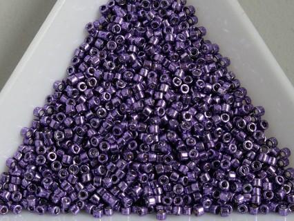 Miyuki Delica 11/0 DB430 - Galvanized Dark Lilac - 2g