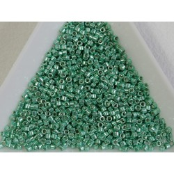 Miyuki Delica 11/0 DB426 - Galvanized Dark Mint Green - 2g