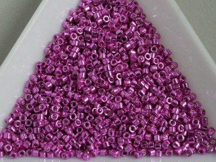 Miyuki Delica 11/0 DB425 - Galvanized Hot Pink - 2g