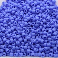 Toho R11-48LF, Opaque-Frosted Periwinkle, 10g