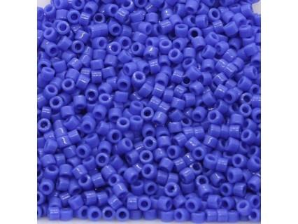 Delica DB1138 - Opaque Cyan Blue - margele 11/0 Miyuki Delica - 5g