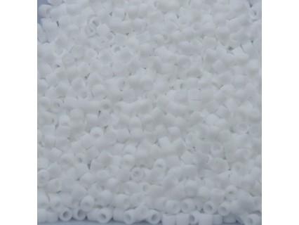 Delica DB750 - Chalk White Opaque Matte - margele Miyuki Delica11 - 5g