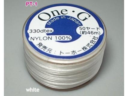 Ata Toho OneG PT-01, white, bobina cca. 46m