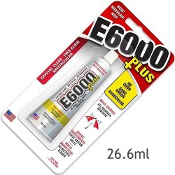 Adeziv E6000 Plus Clear, tub 26.6ml in blister