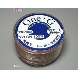 Ata Toho OneG PT-04, beige, bobina cca. 46m