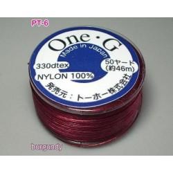 Ata Toho OneG PT-06, burgundy, bobina cca. 46m
