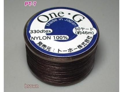 Ata Toho OneG PT-07, brown, bobina cca. 46m