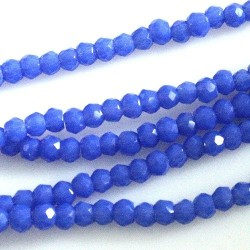 Chinese Cut Beads 1mm [ccb37] - Baltic Blue - aprox. 200 buc - sirag