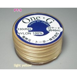 Ata Toho OneG PT-09, light yellow, bobina cca. 46m