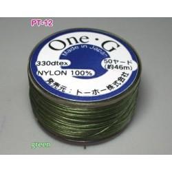Ata Toho OneG PT-12, green, bobina cca. 46m