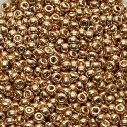 Miyuki Rocaille MR11-1052, Galvanized Gold, 5g
