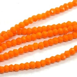 Chinese Cut Beads 1mm [ccb31] - Tangerine - aprox. 200 buc - sirag