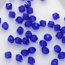 MCR3-43 Cobalt Blue - margele bicon 3mm MC Rondell - 12x