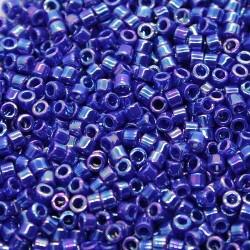 Delica DB165 - Opaque Royal Blue AB - margele Miyuki Delica11 - 5g