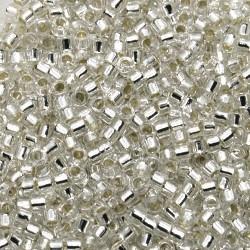 Delica DB41 - Silver-Lined Crystal - margele Miyuki Delica11 - 5g