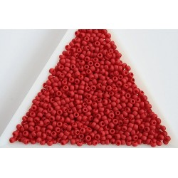 Toho R11-45F, Opaque-Frosted Pepper Red, 10g