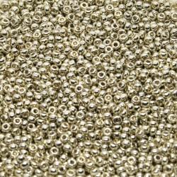 Miyuki Rocaille MR11-4201, Duracoat Galvanized Silver, 5g