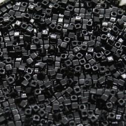 Miyuki Cube 1.8mm SB18-401, Black, 5g