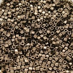 Miyuki Cube 1.8mm SB18-457, Metallic Dk Bronze, 5g