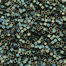 Miyuki Cube 1.8mm SB18-2008, Matte Metallic Patina Iris, 5g
