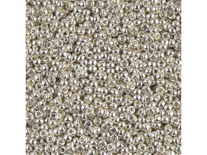 Miyuki Rocaille MR11-1051, Galvanized Silver, 5g