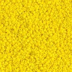 MR15-404 margele Miyuki 15/0 - Opaque Yellow, 5g