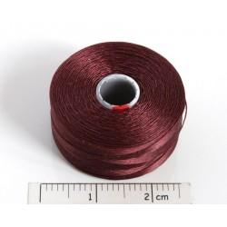 C-lon size D burgundy [06] - fir nylon monocord, (bobina aprox. 71m)
