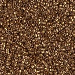 Delica DB22L - Metallic Lt Bronze - margele Miyuki Delica11 - 5g