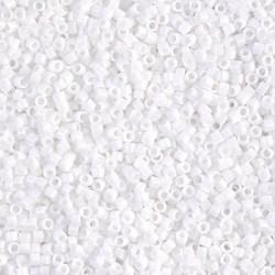 Delica DB200 - White - margele Miyuki Delica11 - 5g
