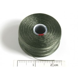 C-lon size D olive [14] - fir nylon monocord, (bobina aprox. 71m)