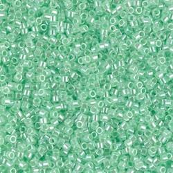 Delica DB237 - Lined Crystal Lt. Green - margele Miyuki Delica11 - 5g