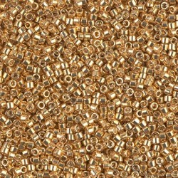 Delica DB410 - Galvanized Yellow Gold - margele Miyuki Delica11 - 5g