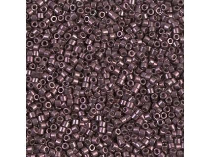 Delica DB454 - Galvanized Smoky Amethyst - margele Miyuki Delica11 - 5g