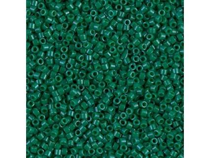 Delica DB656 - Dyed Opaque Green - margele Miyuki Delica 11/0, 5g