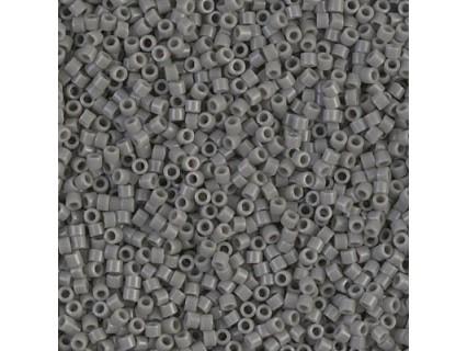 Delica DB731 - Opaque Grey, margele Miyuki Delica11 - 5g