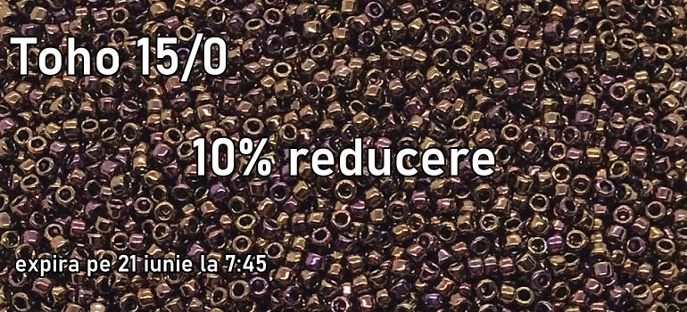 Toho 15/0 - reducere 10%