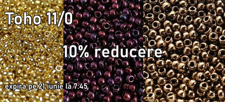 Toho 11/0 - reducere 10%